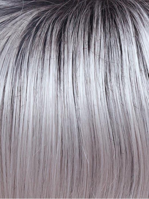 ILLUMINA-R | Dark Brownish purple rooted with silver