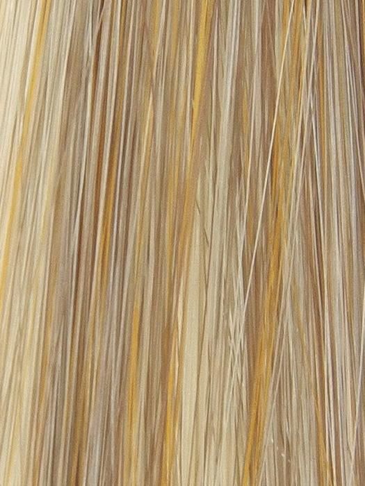 CHIFFON-CANDY | Dark Gold Blonde with shadowed roots and Gold Blonde highlights