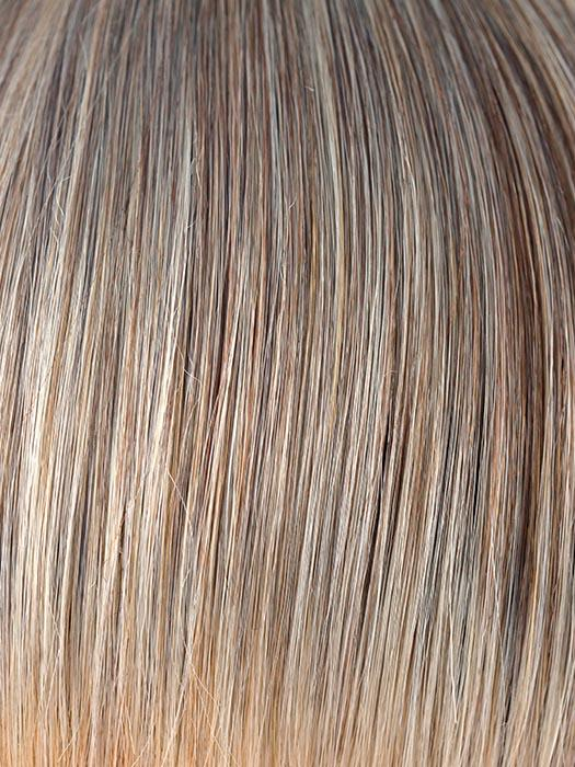 FROSTI-BLONDE | Light Ash Brown with Ash Platinum Highlights on top and at the tips