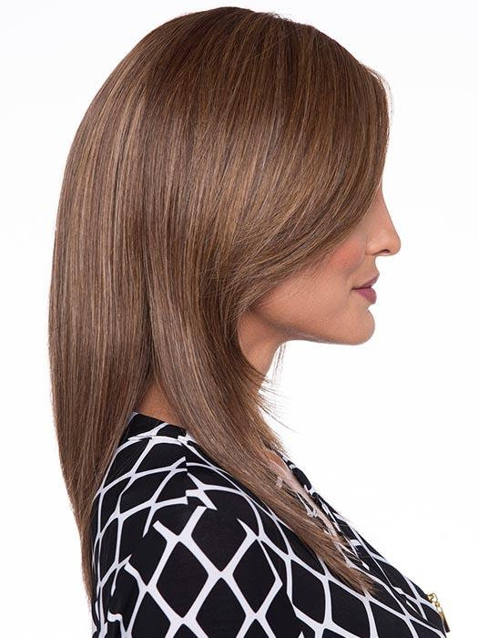 Looking for a longer 'do? Ava Wig by Envy's lines are sleek with a touch of allure