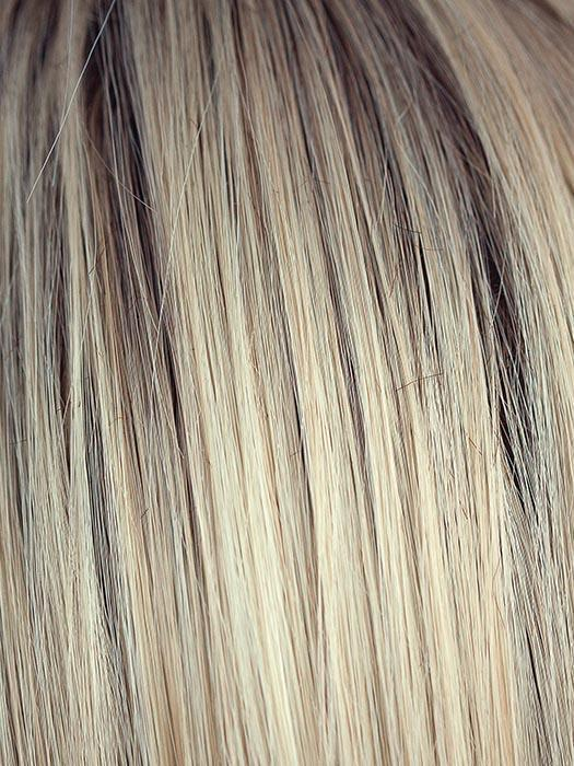 CRÈME BRULEE | Medium Golden Blonde with Light Blonde highlights and Dark Blonde roots