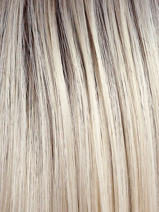 COCO CREAM | Platinum Blonde with a Medium Brown root