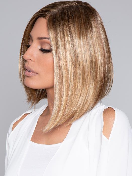 ALISON by JON RENAU in 14/26S10 | Light Gold Blonde and Medium Red-Gold Blonde Blend, Shaded with Light Brown