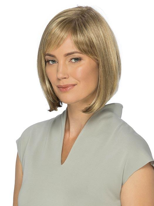 EMMA by ESTETICA in R12/26CH | Light Brown w/Chunky Golden Blonde Highlights