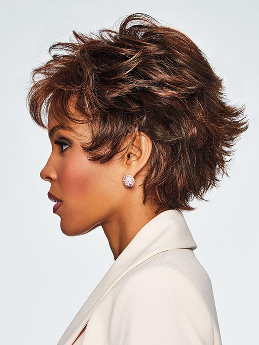 This stunning, no-fuss salon cut can be worn full, smooth or somewhere in between