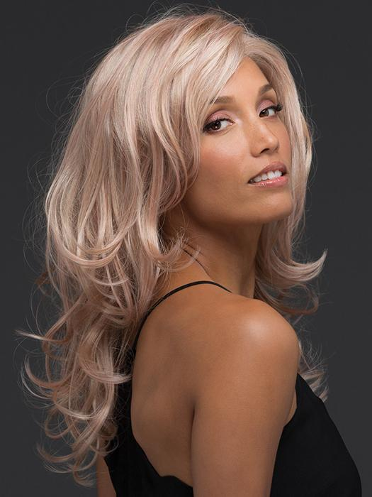 SMOKY-ROSE | Platinum Blonde and Soft Pink Blend