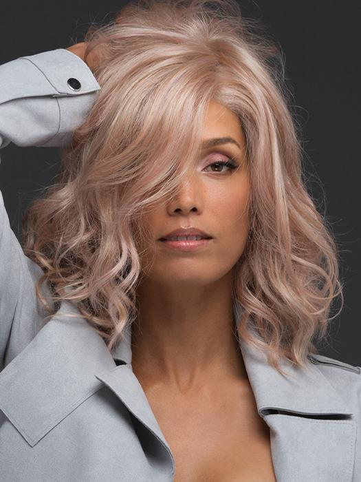AVALON by ESTETICA in SMOKY-ROSE | Platinum Blonde and Soft Pink Blend