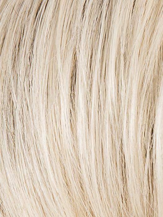 LIGHT CHAMPAGNE ROOTED 24.101.60 | Light Beige Blonde, Medium Honey Blonde, and Platinum Blonde blend with Dark Roots