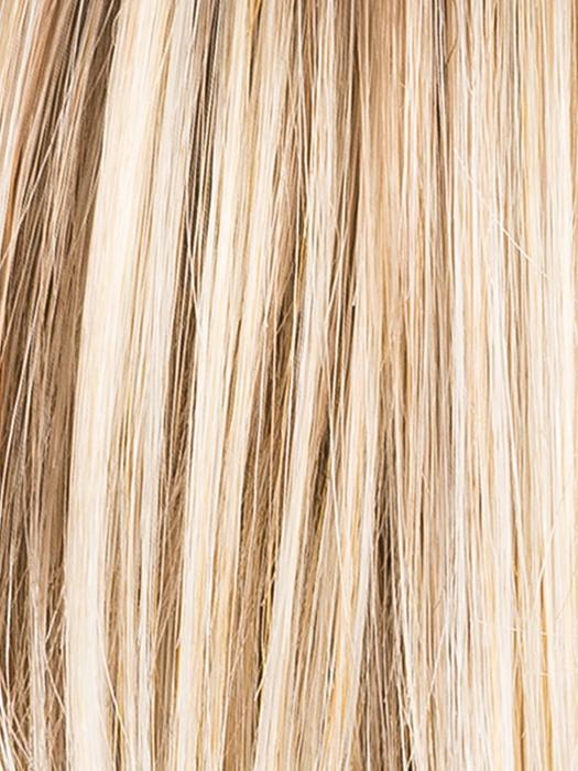 CHAMPAGNE ROOTED 22.25.24 | Light Beige Blonde, Medium Honey Blonde, and Platinum Blonde blend with Dark Roots