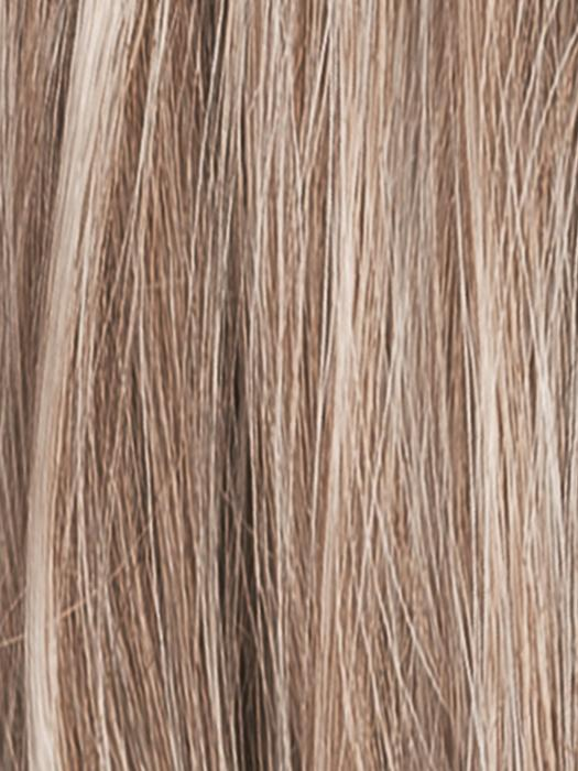 SANDY-BLONDE-ROOTED 16.22.20 | Medium Honey Blonde, Light Ash Blonde, and Lightest Reddish Brown blend with Dark Roots
