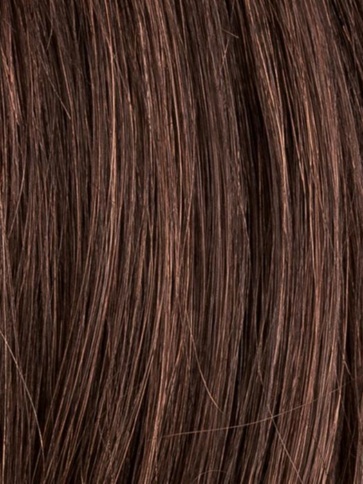 DARK CHOCOLATE ROOTED 6.30.4 | Dark Brown base with Light Reddish Brown highlights with Dark Roots