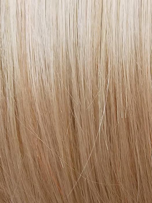 PEACH-GOLD | Warm Light Blonde Blended with Warm Pink Blonde