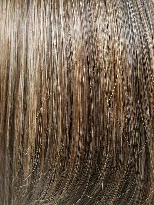 KANDY-BROWN-LR | Warm Light Brown and Dark Rich Brown Mixed with Dark Long Roots