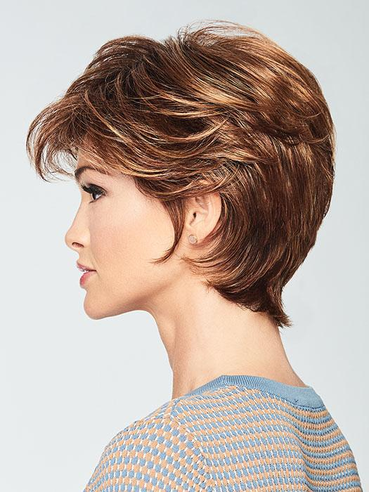 Can be finger styled to create a tousled, yet elegant look.
