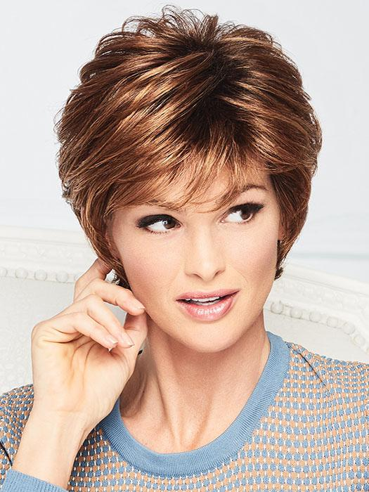 Soft Romance by Gabor will have you looking your best in no time in this contemporary cut with soft, variegated lengths