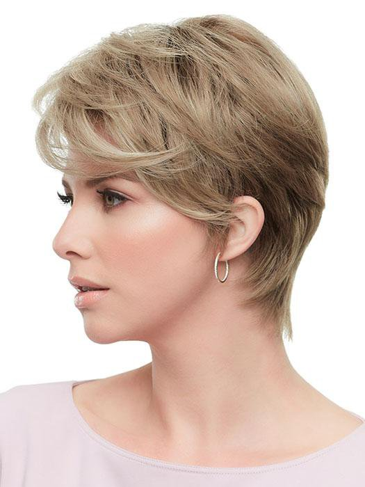 The SmartLace hairline and monofilament top provide a supremely natural appearance and feel