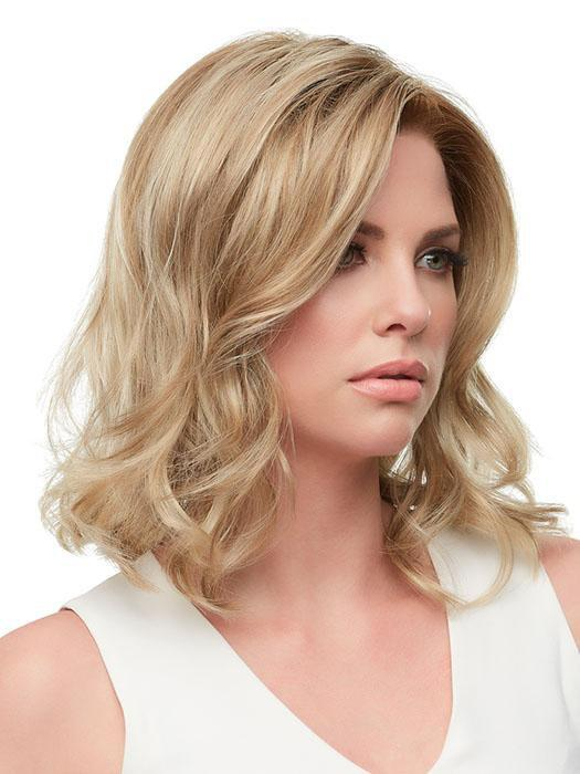 The SmartLace hairline and nearly translucent monofilament top maximize its natural aplomb