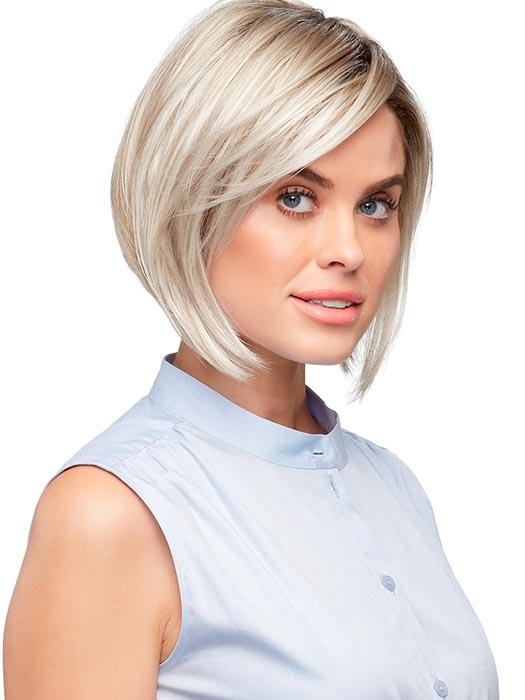 VICTORIA by JON RENAU in FS17/101S18 PALM SPRINGS BLONDE | Light Ash Blonde with Pure White Natural Violet, Shaded with Dark Natural Ash Blonde