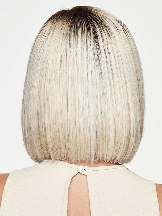 RL16/22SS SHADED ICED SWEET CREAM | Pale Blonde with Slight Platinum Highlighting and Dark Roots
