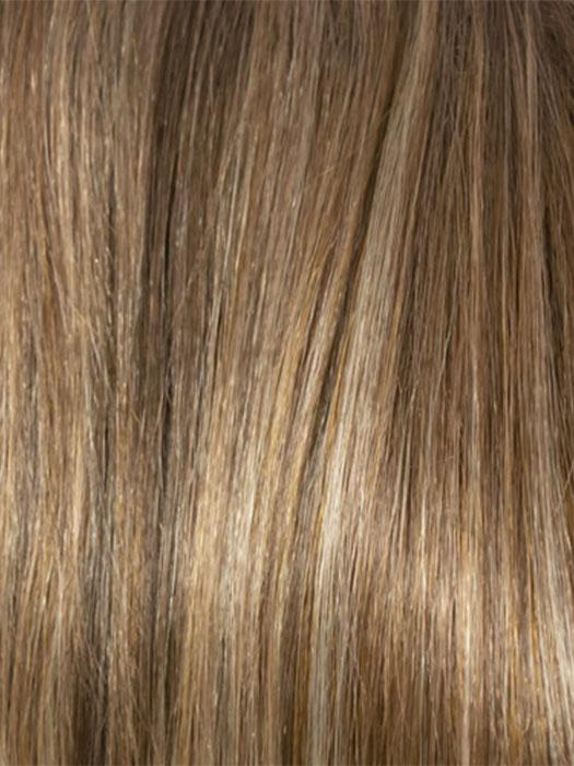 8-10-88H | Light Chestnut Brown and Medium Golden Brown Blend With Light Blonde Highlights
