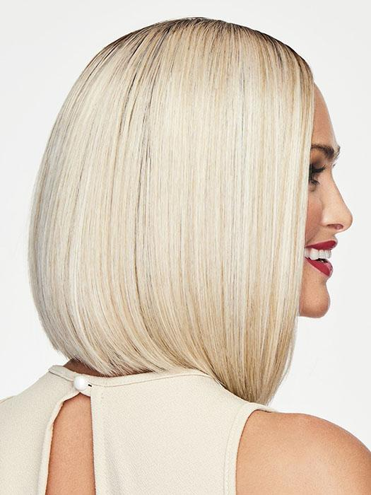 This contemporary bob wig is sleek, straight, and classic!
