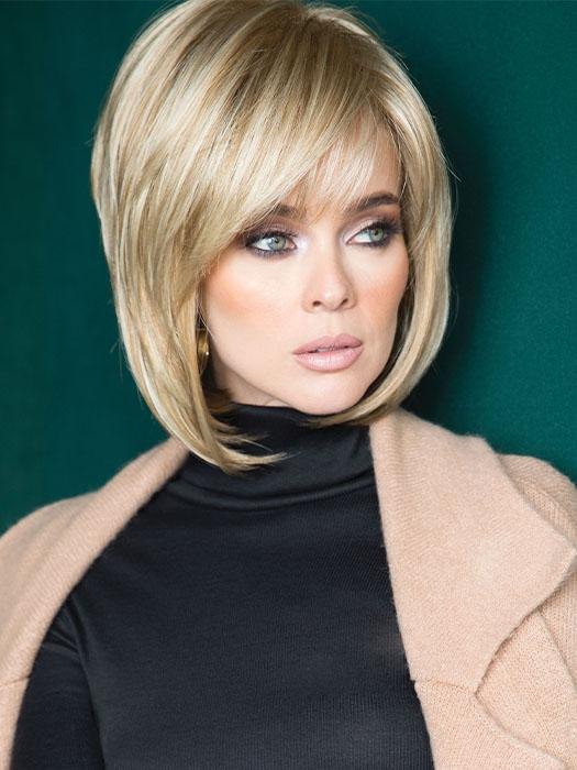 Cameron by Rene of Paris in CREAMY TOFFEE | Light Platinum Blonde and Light Honey Blonde evenly blended