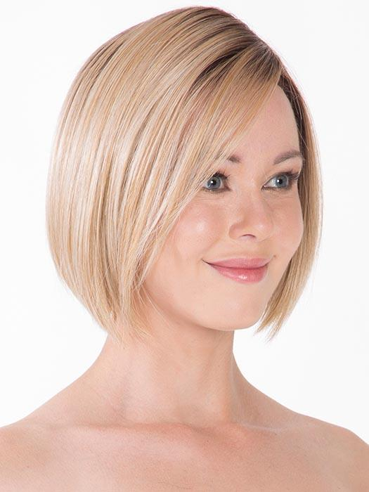 Partial monofilament top creates the perfect fitting crown with the natural looking part and without being overly flat