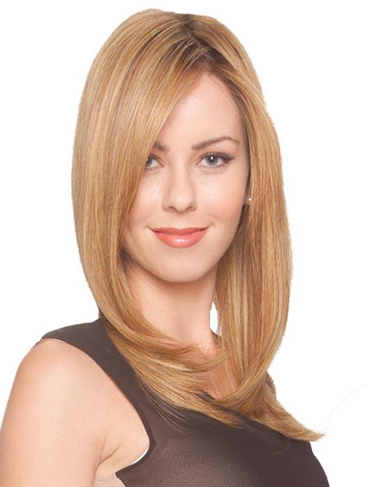 t's beautiful, flowing straight tresses lack the uneven waves, giving it a completely natural look