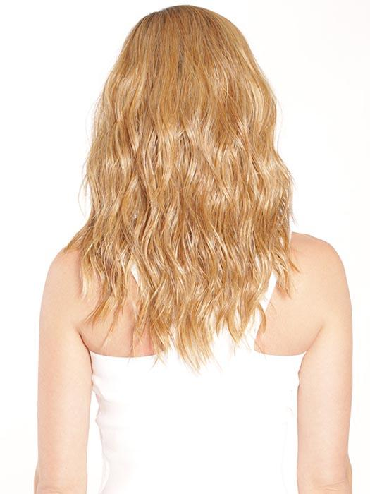SUGAR COOKIE WITH HAZELNUT | Caramel Honey Blonde with Medium Golden Butterscotch Blonde Highlights, Medium Brown Roots