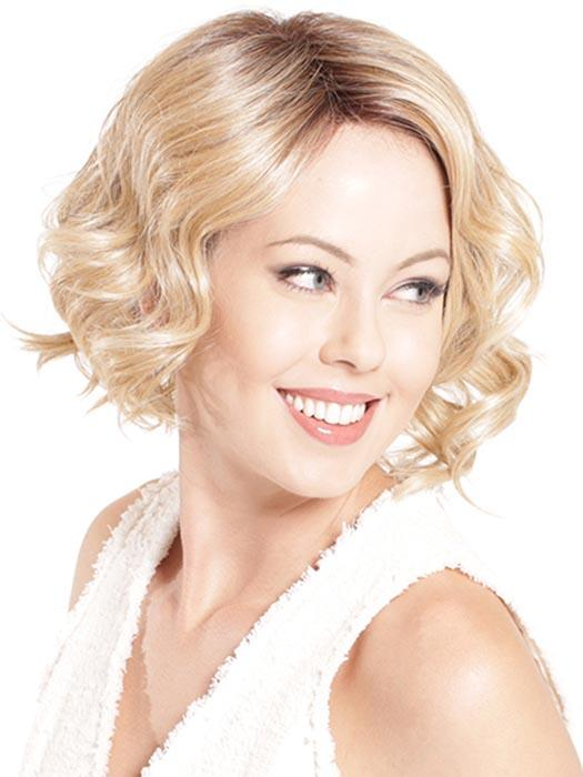 Accentuated by chic partial monofilament side-part with full lace front that allows you to wear the hair off the face with the natural hairline