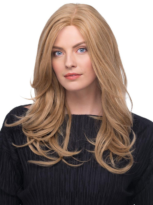 The Eva Remi Human Hair Wig by Estetica features a beautiful lace front, monofilament top and machine made back