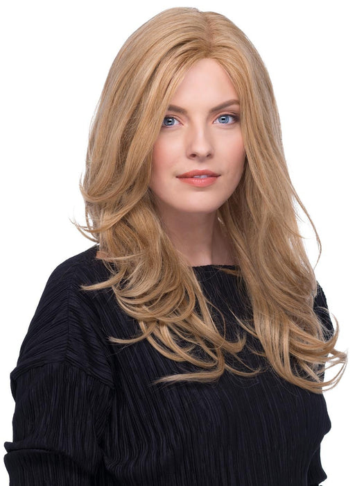 EVA Wig by ESTETICA in R24/18 | Golden Blonde Blended with Ash Blonde