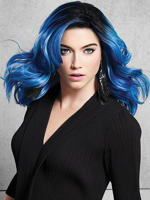BLUE WAVES by HAIRDO in BLUE WAVES