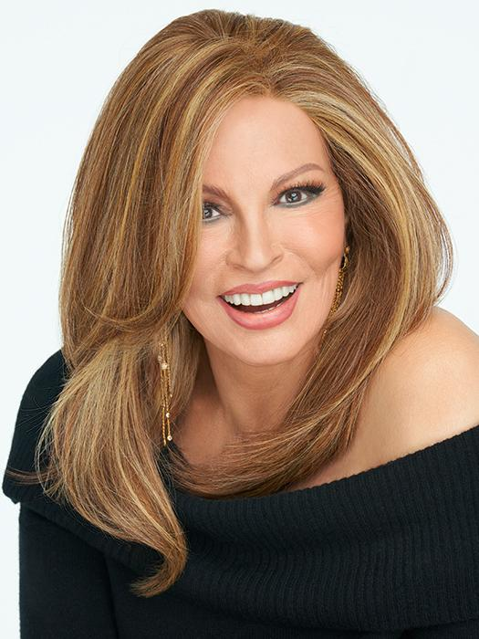 NICE MOVE by RAQUEL WELCH in RL29/25 GOLDEN RUSSET | Ginger Blonde Evenly Blended with Medium Golden Blonde