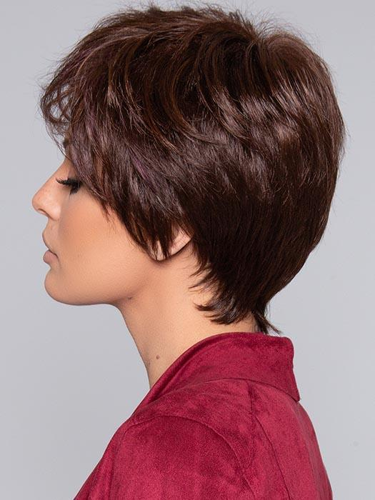 HOT by ELLEN WILLE in CHOCOLATE MIX | Medium to Dark Brown base with Light Reddish Brown highlights