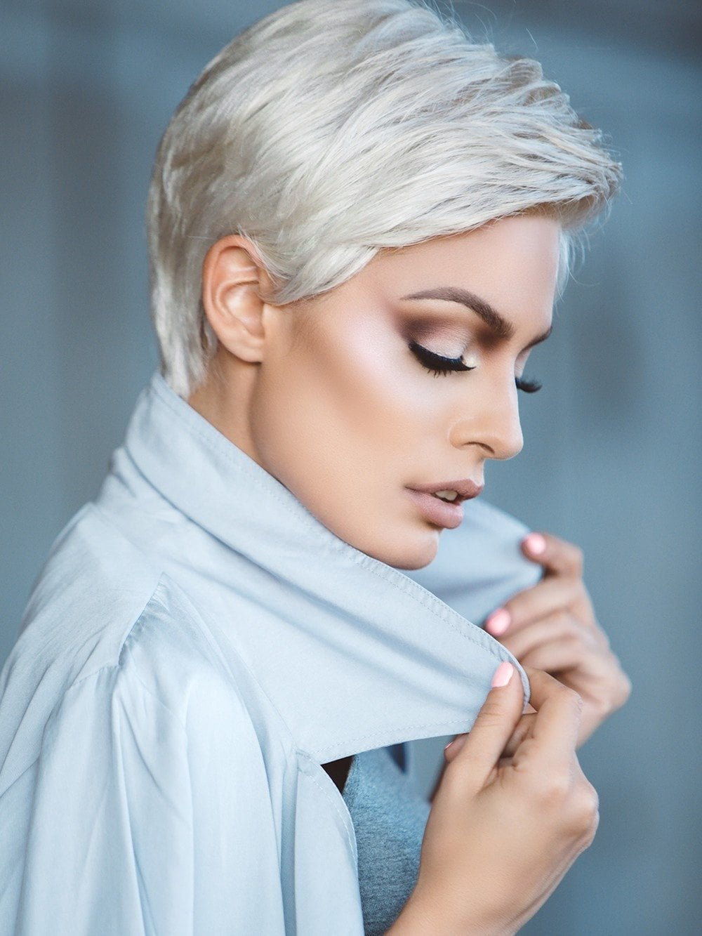 RISK COMFORT by Ellen Wille in SILVER MIX | Pure Silver White and Pearl Platinum Blonde Blend