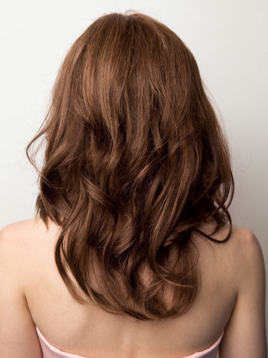 CHARLOTTE WAVY by Amore in A30/8 | Honey Brown