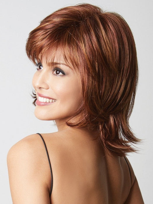 BAILEY by Rene of Paris in IRISH-SPICE | Medium Auburn base with Dark Honey Blonde highlights