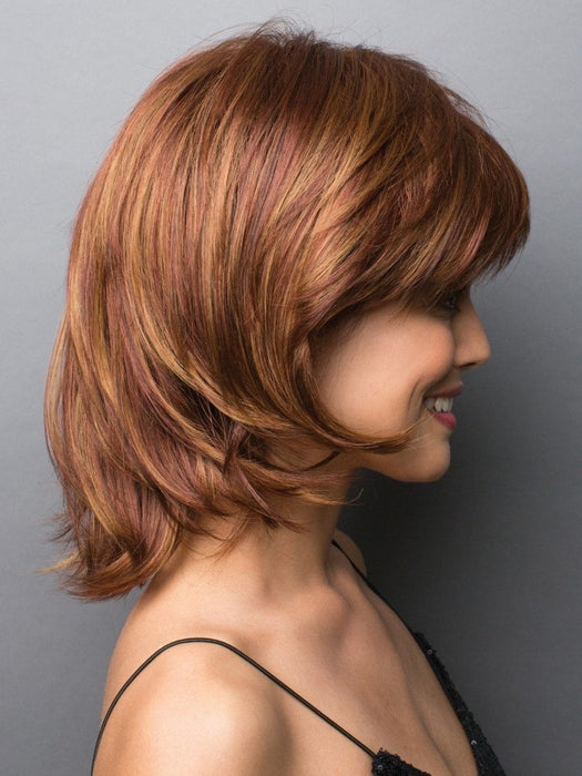 The ready-to-wear synthetic hair looks and feels like natural hair