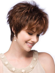 RONI by Noriko in PAPRIKA-ROOT | Light auburn and dark auburn blend rooted dark