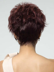 BURGUNDY ROSA | Darkest Brown Roots with Burgundy Tips