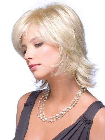 CLAIRE by Noriko in [Non-Gradient] CREAMY BLONDE | Platinum and Light Gold Blonde evenly blended
