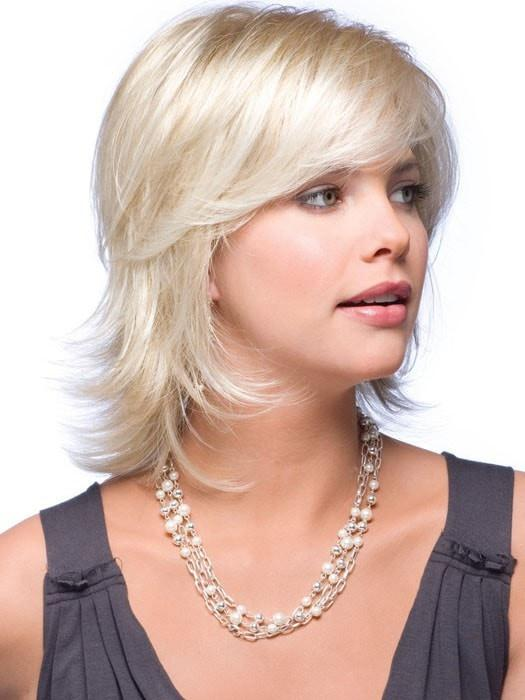 CLAIRE by Noriko in CREAMY BLONDE | Platinum and Light Gold Blonde evenly blended