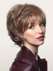 Noriko SKY in HONEY WHEAT | Light Brown Base with Honey Blonde Highlights