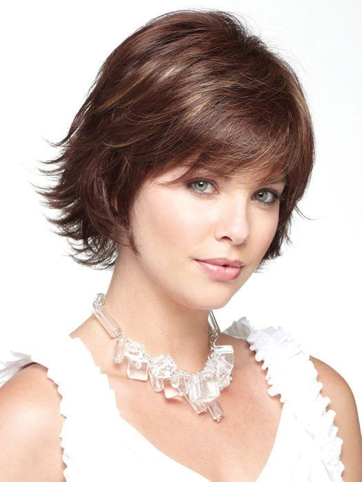 pictures of layered bob haircuts gradient by noriko rooted colors wigs the 5985
