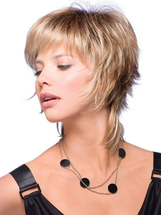 Millie Gradient is a unique trendy short wig with a flirty edge.