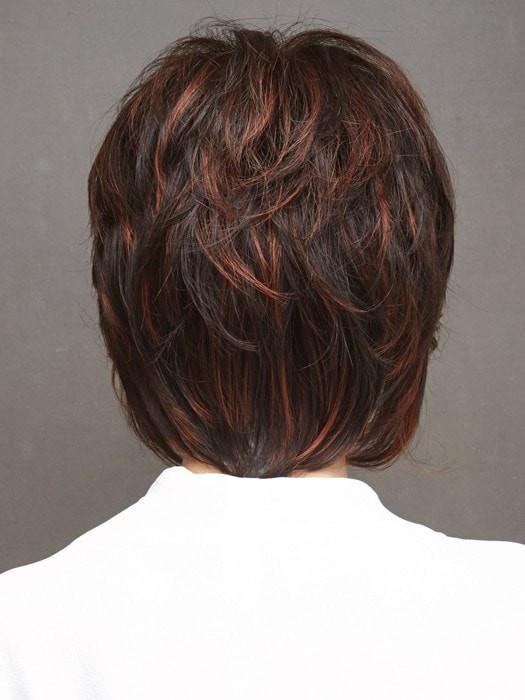RED PEPPER | Medium Brown Base with Deep Red Pepper Highlights