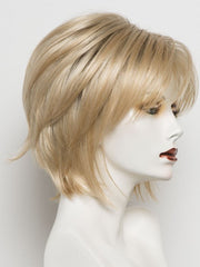 CREAMY TOAST R | Rooted Dark Blonde with Platinum Base with Dark Gold Blonde Highlights