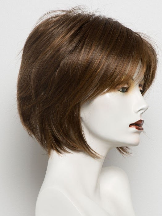 TERRACOTTA H | Rooted Dark Brown with Gold Brown Base and Bright Auburn Highlights