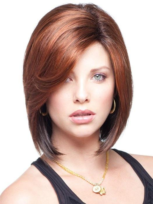 A relaxed bob with a wispy perimeter and feathery swept sides